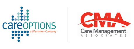 Care Options and CMA Logos