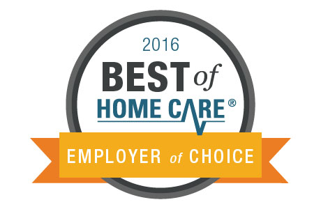 Best of Home Care 2016 Employer of Choice