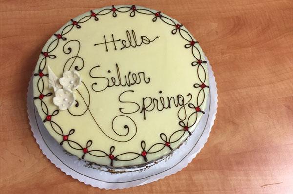 Silver Spring Cake