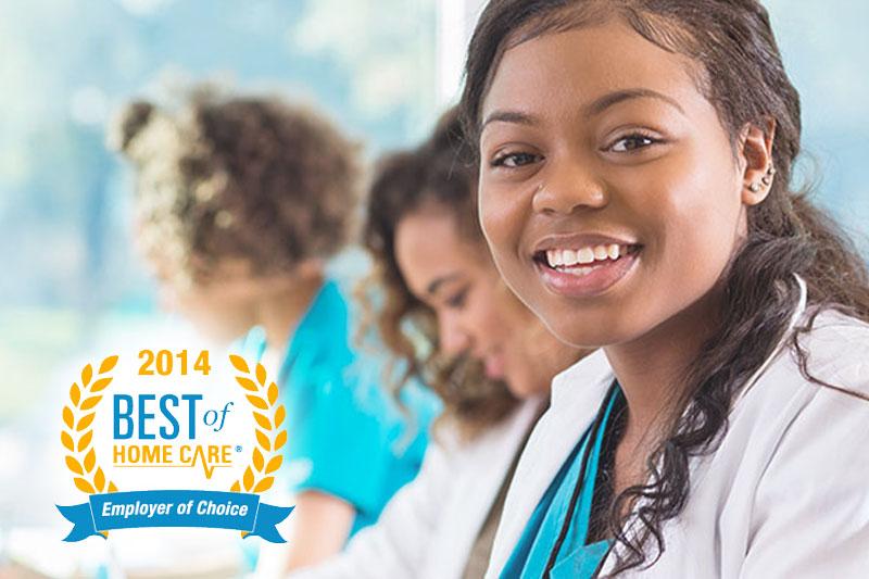 2014 Employer of Choice Award