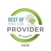 2018 Best of Home Care Provider of Choice