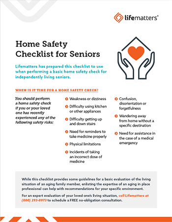 Lifematters Home Safety Checklist