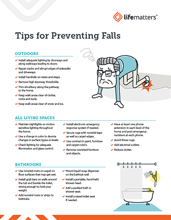 Lifematters Tips for Preventing Falls